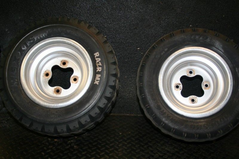 Honda 450R 450 R Stock Rear Wheels Rim Tires 450R