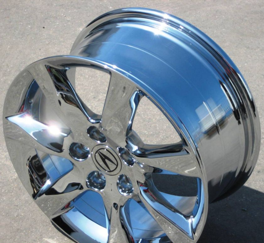 TL PILOT RL CHROME WHEELS RIMS 2012 SET OF 4) 714 940 1761