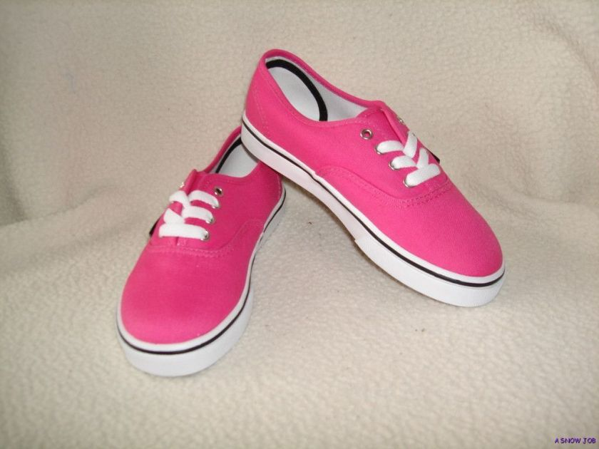 NEW VANS YOUTH KIDS GIRLS AUTHENTIC LO PRO SHOES 13